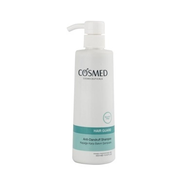 Cosmed Hair Guard Anti Dandruff Shampoo 400ml Renksiz